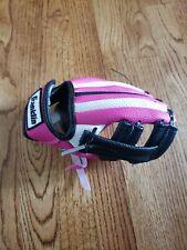 Franklin Little Girl's Pink White Black Air Tech Rtp 8.5 N Baseball Glove