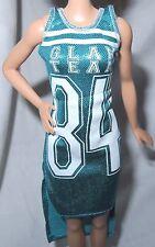 DRESS ~ BARBIE DOLL FASHIONISTA GLAM TEAM 84 SPORTY SHIMMERY ACCESSORY CLOTHING