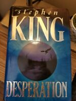 Desperation by Stephen King 1996 TRUE UK 1st Edition 6th Printing HB DJ VGC!!