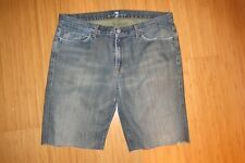 SEVEN FOR ALL MANKIND CUT OFF SHORTS MENS SZ 36