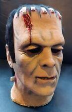 1983 Don Post Wide Scar Frankenstein Mask Foam Filled Rubber Universal Monster
