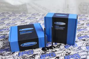 Supertech +1mm OverSize Dish Intake Exhaust Valves Set For Ford Focus 2.0L ZETEC