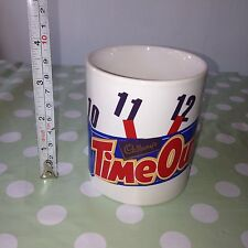 Cadbury's Chocolate Bar TIME OUT Coffee Mug Collectable Cup Great Gift Present