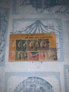 1921 American Bank Note Company Yugoslavia Jugoslavia 14 Var Stamps