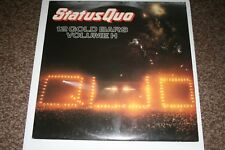 """Status Quo """"12 Gold Bars Volume 1+1"""" Double LP NrMint Condition (play tested)"""