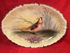 Antique Hand Painted Limoges Platter c1890-1900, L378