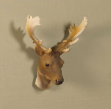 1:12 Scale stag's head  Dolls House Miniature Decoration
