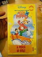VHS DISNEY - ECCO PIPPO - A PESCA DI GUAI - VS 8401