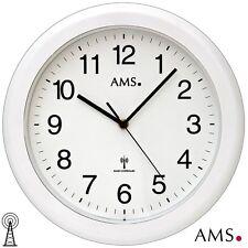 AMS 44 Horloge murale pour salle de bain Radio-piloté radio-pilotée étanche ø 30