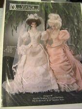 "VICTORIAN WEDDING DRESS & BALL GOWN~Vicki's Original Designs fits 24 & 26"" dolls"
