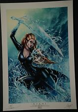 Kiani Art Print Signed by Dawn McTeigue and Sabine Rich