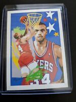 1990 NBA Hoops Charles Barkley Team Checklist #374 GEM MINT ART CARD INSERT