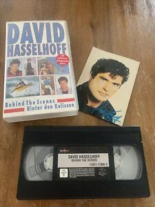 David Hasselhoff VHS Mit Autogrammkarte