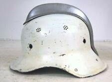 More details for vintage german fire fighters helmet (spares or repair)