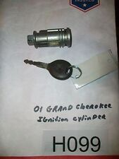 2001 GRAND CHEROKEE Ignition Cylinder Lock With KEY  WARRANTY  TESTED OEM #H099+