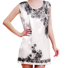 Women Robe Satin Long Pajamas Bath Plus Sexy Dress Set Nightgown Hot Lingerie