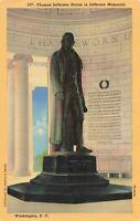 Postcard Jefferson Memorial Washington DC