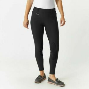 Irideon Issential Riding Tights Equestrian Breeches Pants Black Size X1