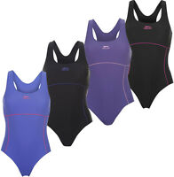 Slazenger Damen Badeanzug Racer 32 34 36 38 40 42 44 Schwimmanzug Schwimmen neu