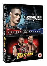 WWE Elimination Chamber 2017 + Fastlane 2017 [DVD] *NEU* Raw + Smackdown PPV