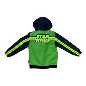 Star Wars Mandalorian Baby Yoda Kids Reversible Jacket Size 9/10 Brand New