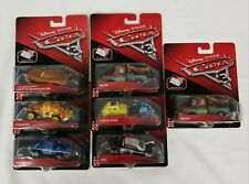 Disney Pixar Cars 3 Diecast LOT of 7 Pushover Broadside APB Mater Luigi Guido