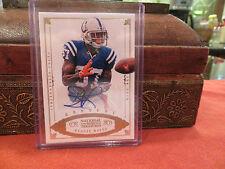 National Treasures Century Autograph Colts Reggie Wayne  Auto  12/25  2012