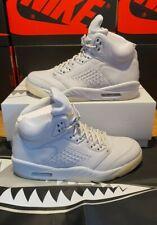 Nike Air Jordan 5 Retro Premium Pure Platinum UK 9 US 10 EU 44 881432 003 (1)