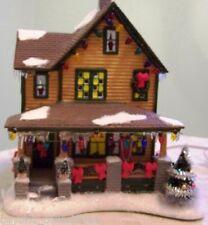 A CHRISTMAS STORY - RALPHIE'S HOUSE - PORCELAIN COLLECTIBLE #402945 NIB