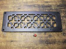 CAST IRON AIR VENT AIR BRICK GRILLE COVER - repair - powder coated