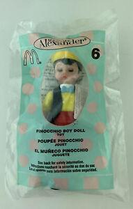 McDonalds Happy Meal 2004 Madame Alexander Disney Pinocchio Boy Doll Figurine