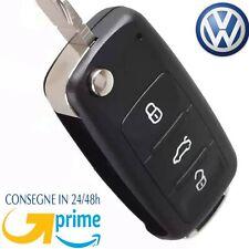 Cover Chiave Guscio Telecomando 3 Tasti VW Golf 5 6 7 Passat B7 CC Polo 6R 6C *,