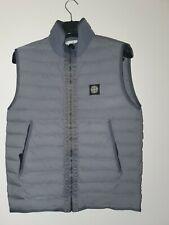 Stone Island Nylon Down Vest Gilet Body Warmer Jacket Pewter Medium M Authentic