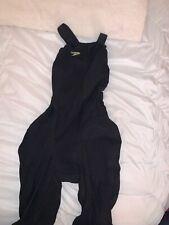 NEW — Womens 27L— Speedo Fastskin LZR Pure Valor — Open Back Kneeskin TechSuit