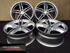 18 Zoll Sommerkompletträder 225 40 18 Reifen Felgen WH11 Silber 5x112 Sommer A3