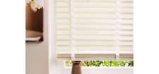 B&Q SILVIA WHITE GLOSS 50MM VENETIAN BLIND 90CM WIDE x CM DROP