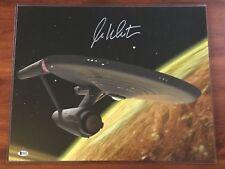 2017 HA SWAG William Shatner BCA Auto Signed Photo 16x20 Star Trek Enterprise
