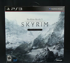 Elder Scrolls V Skyrim Collectors Edition Sony PS3 New/Sealed in Shipping Carton