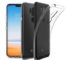 Transparent Clear Silicone Slim Back Gel Case Cover For LG Smartphone G7 ThinQ