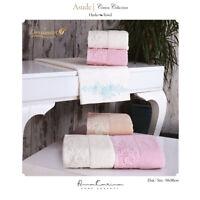 Handtuchset Asude 6er Collection Exclusive Havlu Seti Geschenkbox