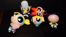 Mojo Jojo McDonald's Figure Toy Lot Powerpuff Girls Blossom, Buttercup &Bubbles
