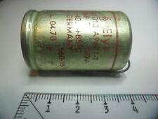 SIEMENS ELYT 470µF 100V +85°C.GERMANY.CONDENSATOR.