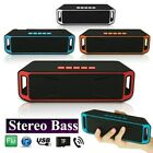 Bluetooth Speaker Wireless Waterproof Outdoor Stereo Super Bass Portable FM AUX