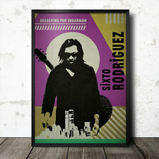 Sixto Rodriguez Searching For Sugarman Pop Art Poster