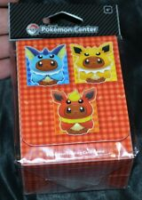 Eevee Wears Capes Deck Box For Collectible Trading Cards Games Pokemon Cases NEW