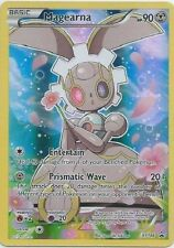 Pokemon Card Mythical Magearna XY186 FULL ART Black Star Holo Promo Mint