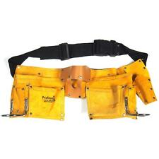 Adjustable Leather Tool Belt for Construction Renovation Carpenters & Plumbers