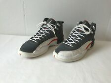 best website f9529 8e791 Nike Air Jordan 12 XII Retro Cool Gray Orange White 153265 012 Sz 5.5Y