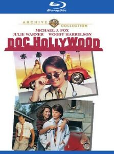 Doc Hollywood (Michael J Fox Julie Warner Barnard Hughes) New Region B Blu-ray