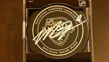 Matt Duchene signed Official 2016 Nashville NHL All Star Game Puck COA!